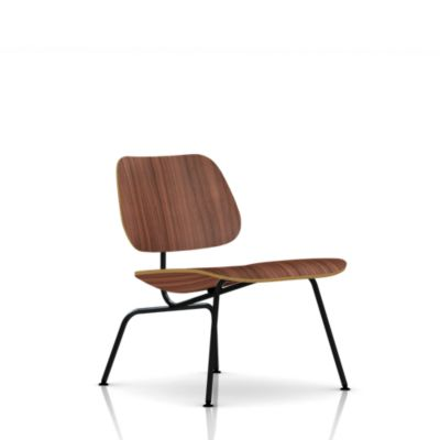 Eames Molded Plywood Lounge Chair Metal Base - Lounge  Living