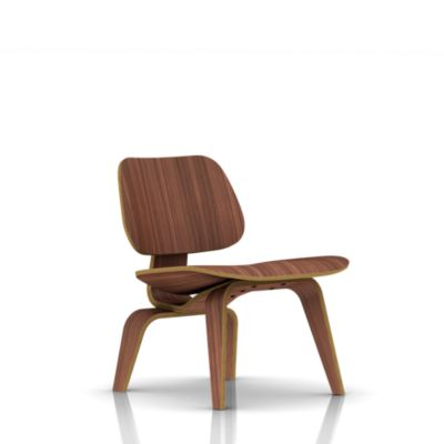 Wood Lounge Chairs eames molded plywood lounge chair wood base - lounge & living