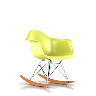 Eames Molded Plastic Armchair Rocker Base