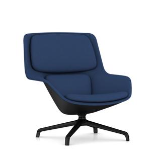 Striad Mid-Back Lounge Chair, 4-Star Base