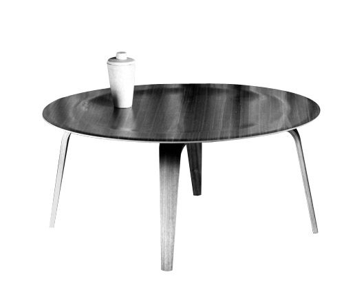 Eames Molded Plastic Coffee Table