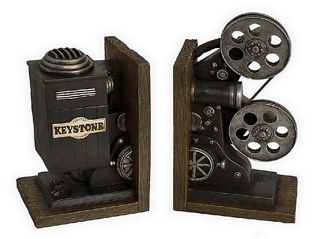S 2 Projector Bookends Hom Furniture