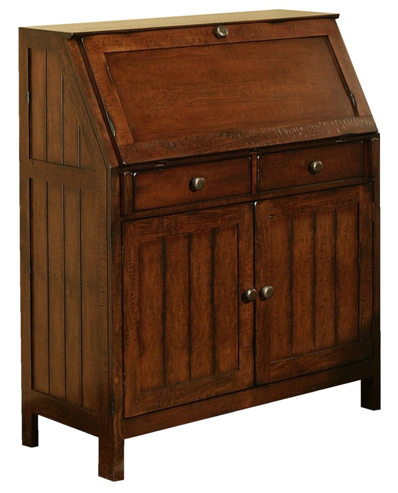 La Sierra Drop Lid armoire desk