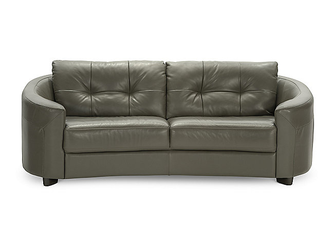Salon Leather Sofa