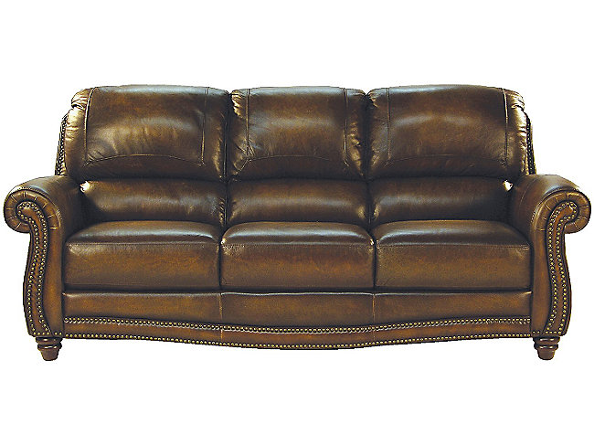 Parker Leather Sofa HOM Furniture