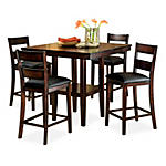 Pendleton Dining table with 4 counterstool