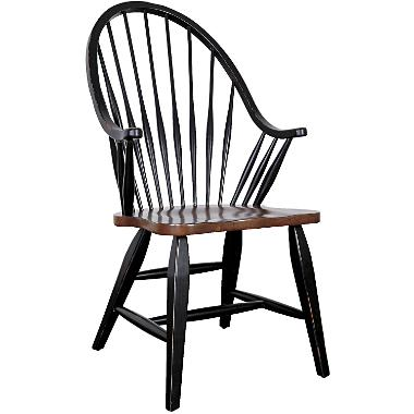 Windsor Dining Chair - Antique Black : Target