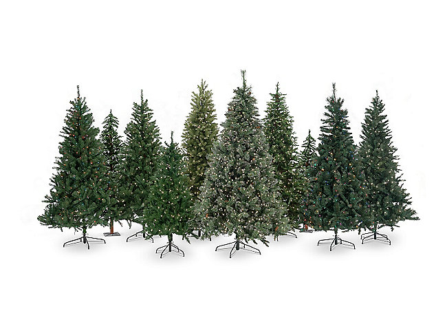 Maine Pine 75 Pre Lit Artificial Christmas Tree Clear Lights
