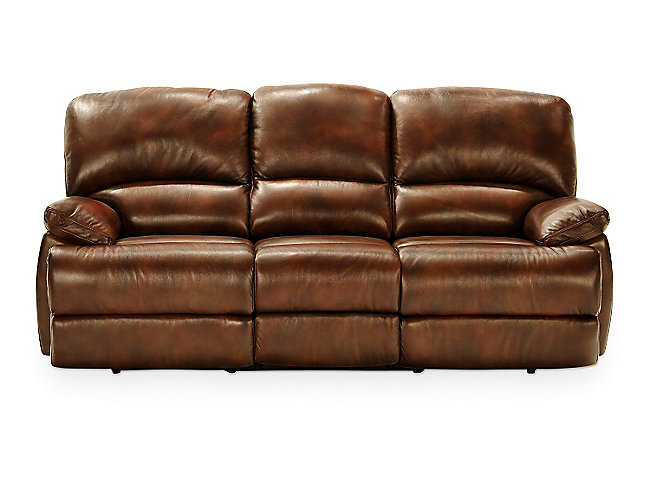 Dylan Leather Power Recline Sofa Hom Furniture