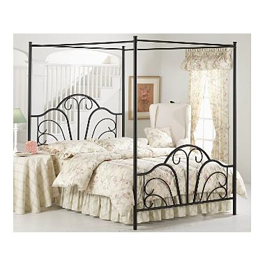 Full Size Canopy Beds at Total Bedroom Furniture, Metal Canopy
