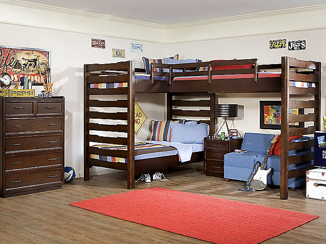 Solutions Triple Loft Bunk Bed