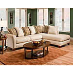 Roller 2-Piece Modular Sectional