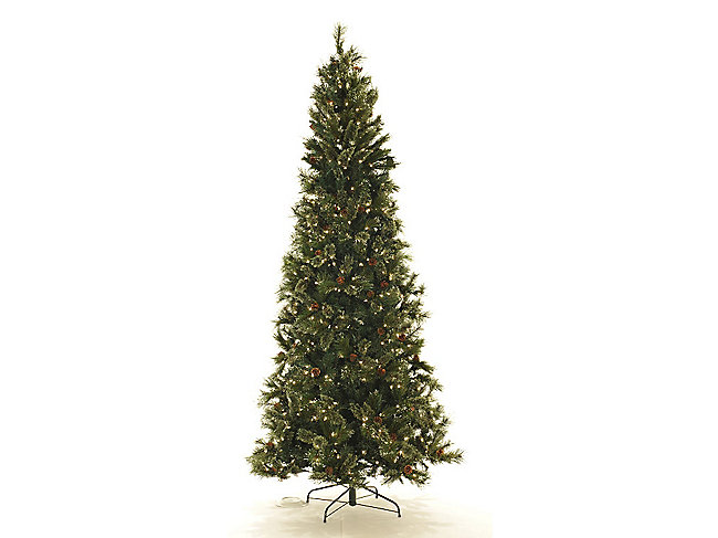 Oregon Pine 12' Pre-Lit Artificial Christmas Tree Clear