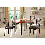 "Taylor 48"" round table and 4 side chairs"