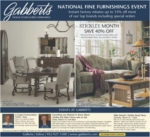 National Fine Furnishings Event