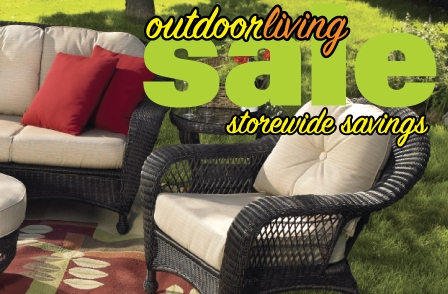 Outdoor Living Sale going on Now!