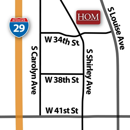 Sioux Falls, SD HOM Furniture Location