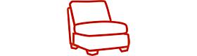 Reversible and modular sofa sectionl