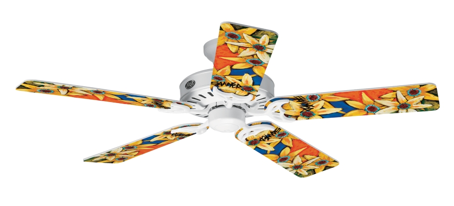52 Quot Brushed Nickel Chrome Ceiling Fan Summer Breeze With