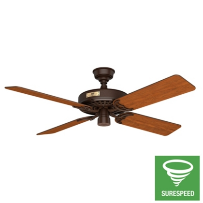 52 Quot Bronze Brown Ceiling Fan Outdoor Original 23847
