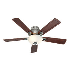 Antique Pewter Ceiling Fan with Light Kit-28784