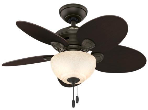 34 Quot Bronze Brown Ceiling Fan Carmen 51004 Hunter Fan