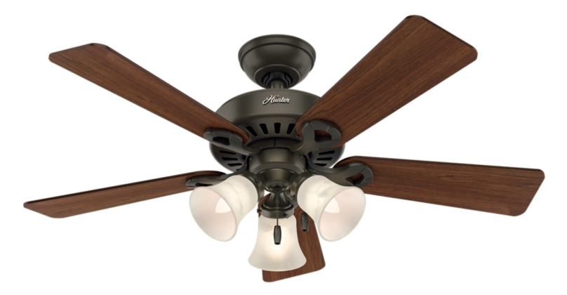44 Ceiling Fan : Quot bronze brown ceiling fan inch new with