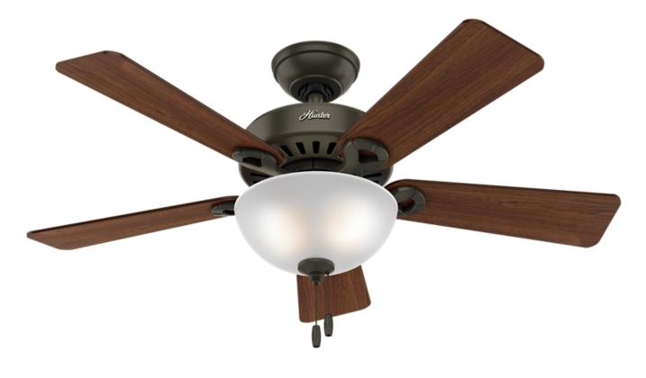 """44"""" Bronze/Brown Ceiling Fan"""