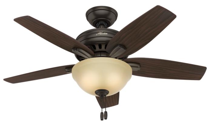 42 Quot Bronze Brown Ceiling Fan Newsome 51087 Hunter Fan