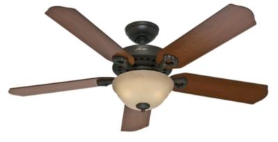 52 Quot Bronze Brown Ceiling Fan Bellwood 52096 Hunter Fan
