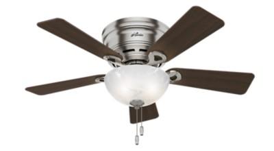 haskell low profile with light 42 inch ceiling fan hunter fan