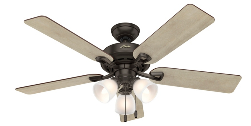 52 Quot Bronze Brown Ceiling Fan Kenney 52267 Hunter Fan