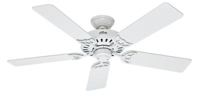 52 Quot White Ceiling Fan Summer Breeze 53039 Hunter Fan