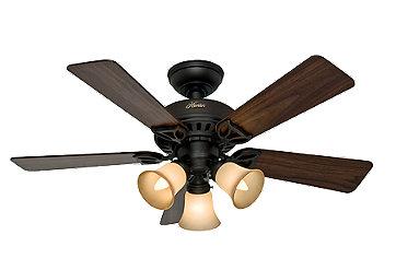 Hunter Fan Five Minute Fan 52 New Bronze Ceiling Fan | Bed ...