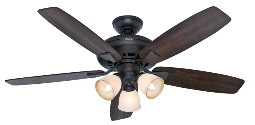52 Quot Bronze Brown Ceiling Fan Winslow 53097 Hunter Fan