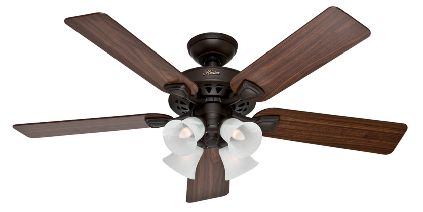 52 Quot Bronze Brown Ceiling Fan Westminster Five Minute Fan