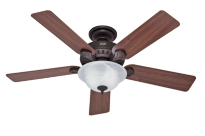 52 Quot Bronze Brown Ceiling Fan Cedonia 53180 Hunter Fan