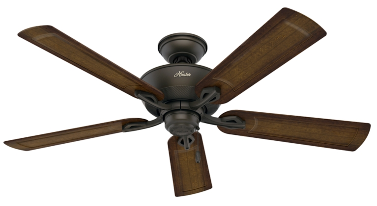 52 Quot Bronze Brown Ceiling Fan Caicos 53212 Hunter Fan