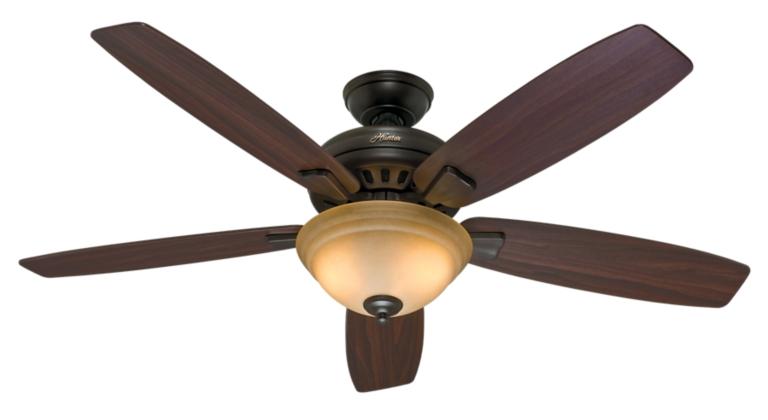 54 bronze brown ceiling fan granville 53214 hunter fan