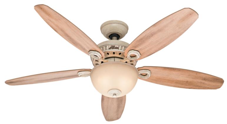 52 Quot White Ceiling Fan Jameson 53218 Hunter Fan