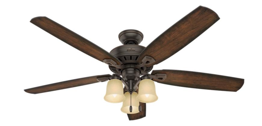 60 Quot Bronze Brown Ceiling Fan Rockledge 54156 Hunter Fan