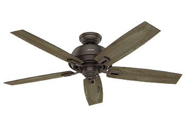 52 Quot Bronze Brown Ceiling Fan Donegan Three Light 53336
