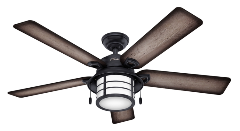 54 Black Ceiling Fan