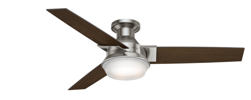 52 Quot Brushed Nickel Chrome Ceiling Fan Morelli 59141