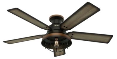 """52"""" Bronze Brown Ceiling Fan Landsdowne"""
