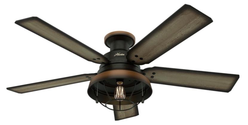 52 Quot Bronze Brown Ceiling Fan Landsdowne 59172 Hunter Fan