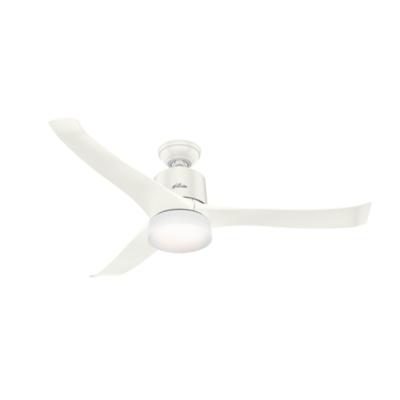 54 Quot White Ceiling Fan Symphony 59222 Hunter Fan