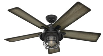 Coral Gables Outdoor With Led Light 54 Inch Ceiling Fan