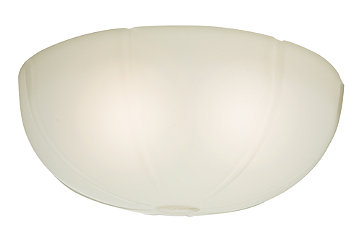 Cased White Glass Bowl - 99061