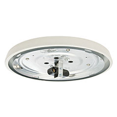 Incandescent Low Profile Fitter, Snow White-99076